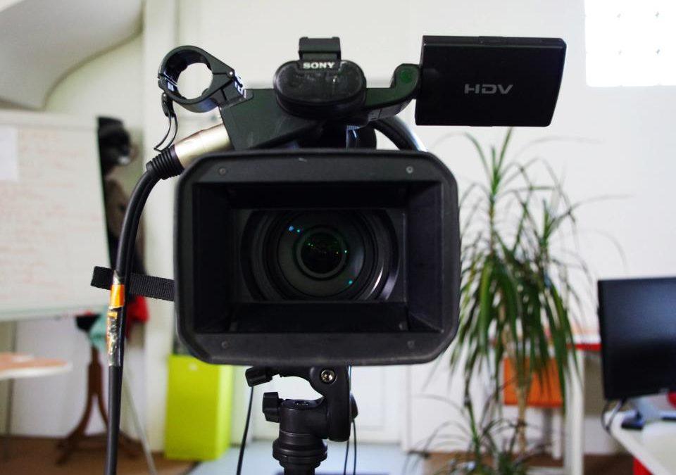 Tournage emission tv : face caméra, on est prêt à tourner !