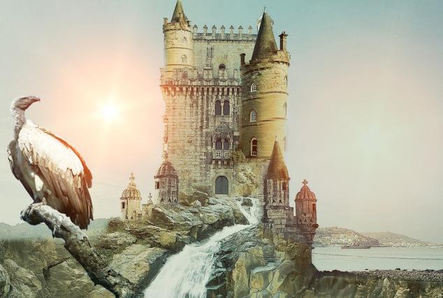 Château fantastique pour le challenge de Westeros