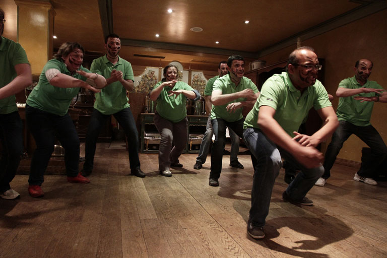Haka dance et Le team building en France