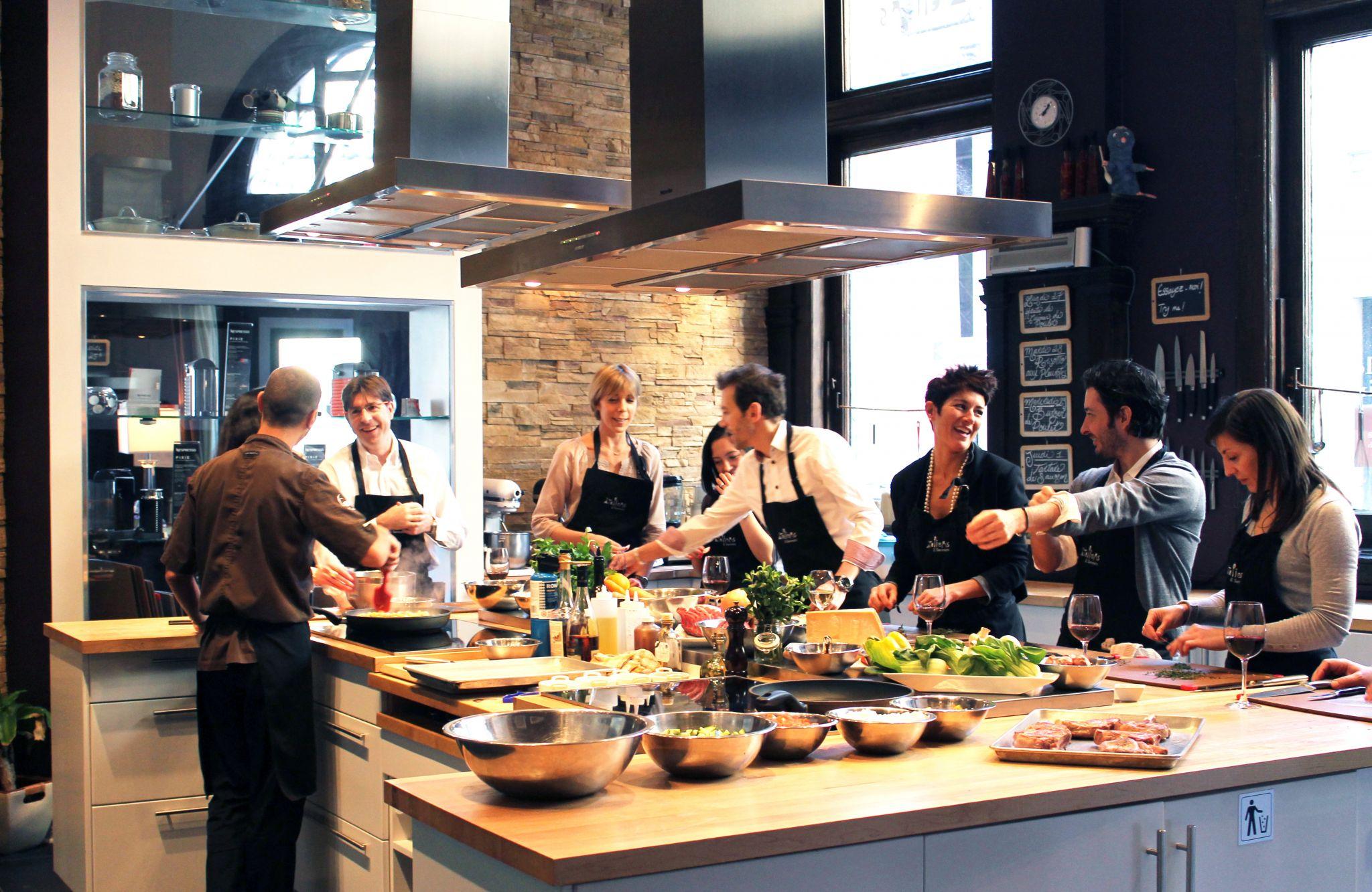 Challenge culinaire, un team building original