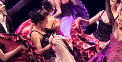 Cabaret Véritable Revue Parisienne avec la célèbre danse, le French Cancan