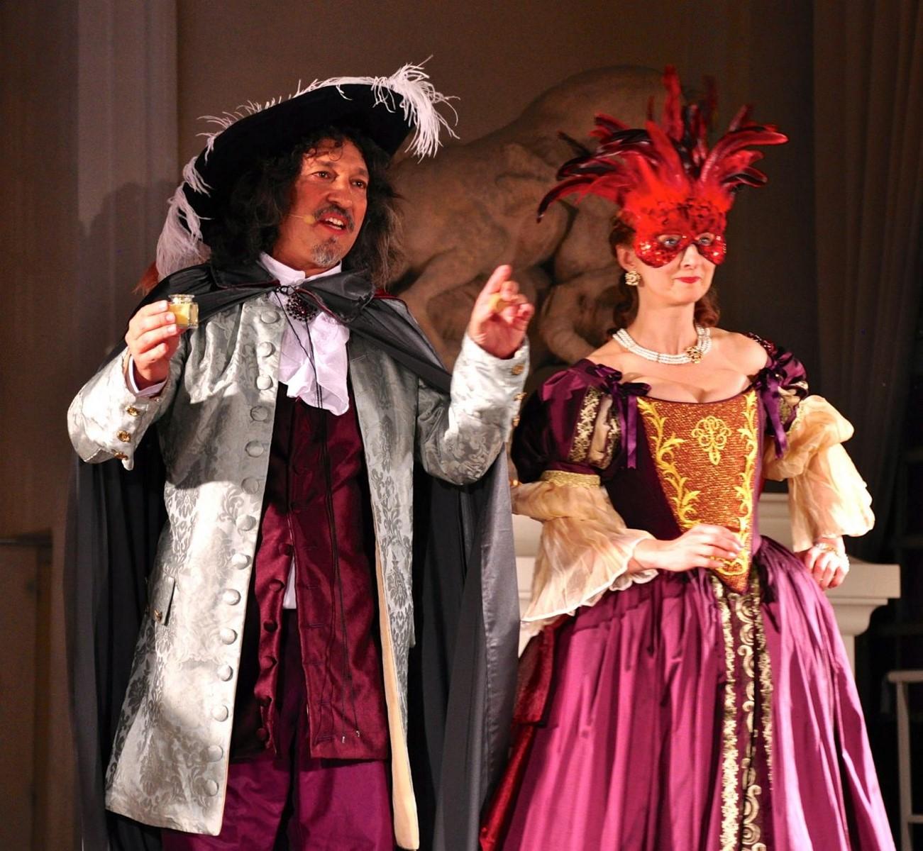 Comédiens cabaret baroque