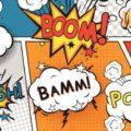Boom, Paf... Mots typiques de bande dessinée