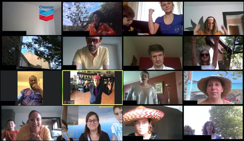 eam building à distance clip vidéo team tonic services